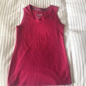 Women's sleeveless Nike shirt